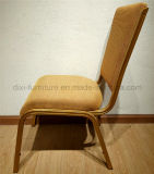 معدن ألومنيوم فندق مأدبة عرس كرسي تثبيت مع أماميّ يثنّي مقادة