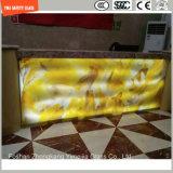 O congelamento e a triagem de seda partição de vidro temperado para Hotel