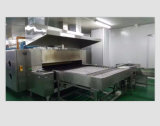 Horno de túnel de la calefacción central para la fábrica de la producción del pan