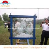 Het kogelvrije Vlakke Venster/boog Aangemaakt Glas