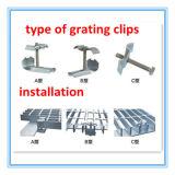 Grating Fasterner, Grating van het Staal Bevestigende Methodes van het roestvrij staal