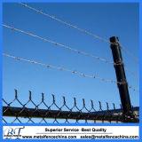 직류 전기를 통한 철망사 체인 연결 방호벽