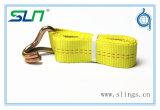 2018 Treuil jaune sangles avec crochet double J