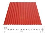 Feuilles d'acier galvanisé de toit ondulé Making Machine