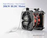 高性能、EVモーター20kw電気自動車の変換キット、セリウムの証明書が付いている電気船外モーター