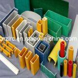 Perfil Pultrusion plástico reforçado por fibra de alta qualidade