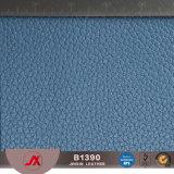 Material do couro gravado do PVC do teste padrão de Lichee para o assento de carro, sofá, sapatas, tampa de livro