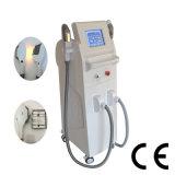Terapia de la pigmentación del rejuvenecimiento de la piel del RF del retiro del tatuaje del laser de la máquina YAG del retiro del pelo de Shr/IPL