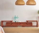 Cabinet de télévision moderne Ash Wood avec tiroirs