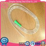 Tube d'estomac transparent de PVC de silicones médicaux pour alimenter