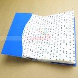 일기 인쇄를 인쇄하는 PU 덮개 노트북
