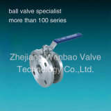 Stainless stalk Wafer type of Italy Ball faded one Pn16