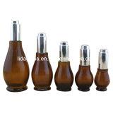 De style européen parfum bouteille en verre ambré