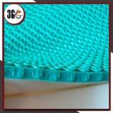 3G couvre-tapis intense antidérapage et imperméable à l'eau de 5mm de la cavité Z de type de PVC Z en roulis