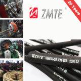 Câble tressé flexible en caoutchouc hydraulique FR853 2SN