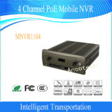 Ponto de entrada vivo NVR móvel da opinião do Realtime da canaleta 1080P de Dahua 4 com 3G/4G/Wi-Fi (MNVR1104)