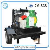 Pompe à eau centrifuge d'aspiration entraînée par moteur diesel de fin