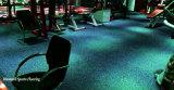 Heißer GummirollenIntelock Gymnastik-Verein-Fußboden des Verkaufs-2017 Innen