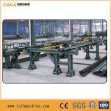 Linha de produção de marcação e cisalhamento de aço angular
