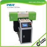 Impresora HotSelling A2 Dual Head Dx5 UV de Cama Plana de Cerámica