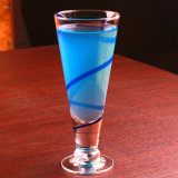 Libre de plomo V Forma la taza del partido de la Copa de cristal Copa de cóctel de jugo Copa de cristal