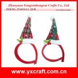 Chapeau de créateur de chapeau de fête de Noël de la décoration de Noël (ZY14Y33-1-2)