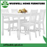La cena juego de muebles de madera de pino (W-5S-94)