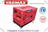 Yarmax 5kVA 6kVA 10kVAの無声ディーゼル発電機のポータブルGenset