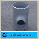Te recta inoxidable de la instalación de tuberías de acero del ANSI B16.9 A403 Wp304L