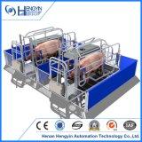 Embalajes de parto galvanizados calientes del nuevo diseño para los cerdos