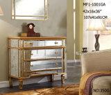 Мебель зеркала ящиков типа 3 твердой древесины высокая