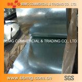 PPGI/HDG/gi/Secc ondulé laminé à froid/chaud Roofing feuille de métal galvanisé à chaud de matériaux de construction de feux de croisement/Galvalume bande en acier