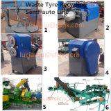 Pneumatico residuo Semi-Automatico che ricicla riga