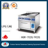 intervallo di gas 2-Burner con la piastra del gas ed il forno di gas (HGR_902G)