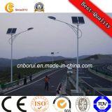 diodo emissor de luz Lighting Pólo de 3-15m Steel Solar Power Street