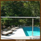 Trilhos do aço inoxidável da cerca da piscina (SJ-X1004)