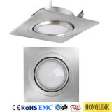 Basculante y IP44 5W Downlight LED reemplazable con módulo LED