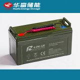 la soupape 12V120ah a réglé la batterie de SLA avec la conformité de la CE