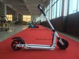 gamme de 11kgs 25kms pliant le mini scooter électrique 250W