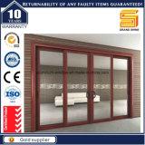 Porte coulissante en aluminium des graines en bois neuves de modèle (7790 séries)