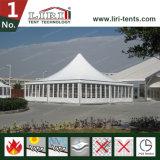 Snel Voedsel 50 de Tent van de Markttent van het Lid met het Witte Ontwerp van de Pagode van het Dak van pvc