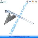 Attache de charrue d'acier de moulage avec la galvanisation plongée chaude