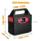 40800mAh Home Solar Generator Stromversorgung Stromversorgung mit LED-Beleuchtung