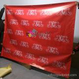 Progettare la stampa per il cliente esterna di Digitahi che fa pubblicità alla bandiera del vinile del PVC