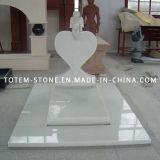 Monumento de piedra negro, granito Tumba Cruz Tombstone / Lápida de Cementerio