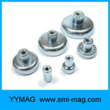 内部/外部糸の鍋の磁石の新磁気ホックベース