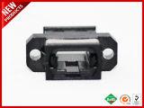 Zwarte Huisvesting van de Adapter van de Flens MPO MTP van de Vezel van de Voetafdruk van Sc de Optische