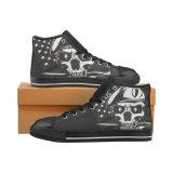 Keine kundenspezifischen geschnittenen Unisexsegeltuch-beiläufige Schuh-kundenspezifischen Segeltuch-Turnschuhe des Turnschuh-013 anreden hallo