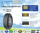 Neumático de la polimerización en cadena, neumático del Pasajero-Coche/neumático, marca de fábrica 195r14c de Boto del neumático radial