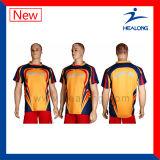 Desgaste del deporte de la camisa del rugbi de la impresión de Jersey de la sublimación